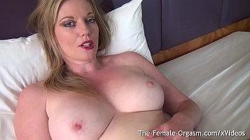 Holly Kiss Masturbates to Multple Explosive Orgasms with the Hitachi