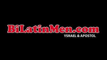 Young latino gay bareback
