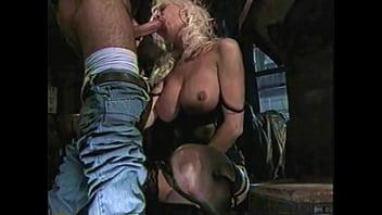 Beautiful High-Heels Blonde MILF Hard Anal Big Cock, Leather Fetish, Helen Duval 4 min