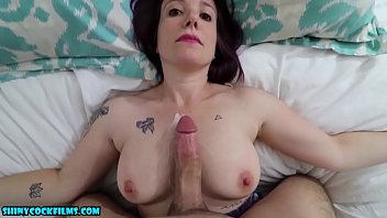 Spanking his cock mommy videos - Son blackmails mom - complete series - shiny cock films