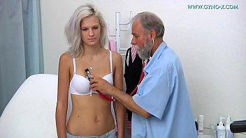 Barbara - 24 years old girl gyno exam
