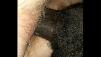 BDB Big Black Cock Fucking Young White Hairy Teen Pussy Doggystyle And Makes Her Cum.
