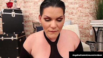 Thick Cuban Angelina Castro Blows Hard Cock To Pay Her Rent!