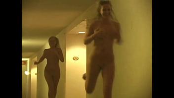 Lia and Alison's Nude Run: Fri. 13th