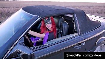 Cosplay Cougar Shanda Fay Sucks Dick Roadside To Save Lives!