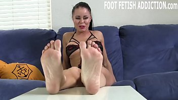 I want you to pamper and worship my feet every day