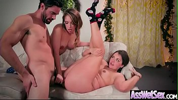 Deep Hard Anal Sex With Huge Butt Horny Girl (Allie Haze & Harley Jade) mov-06