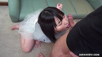 Japanese Fuck Doll, Riku Nekota Sucks Dick, Uncensored
