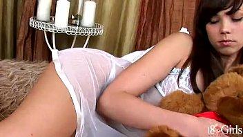 Carla Jessi tease and masturbate in sexy lingerie