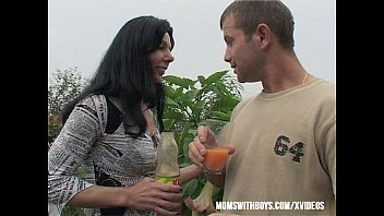 Gardener Sexual Interruption Outdoors