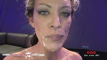 Messy Facial for Cum Crazed Queens GGG Compilation