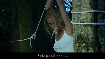 Lifestylish blonde hard shivered and opressed