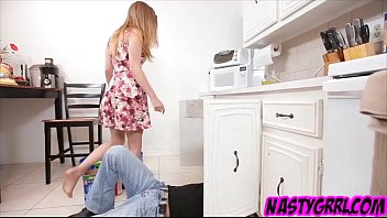 The plumber fills Sydney Cole pussy with cum