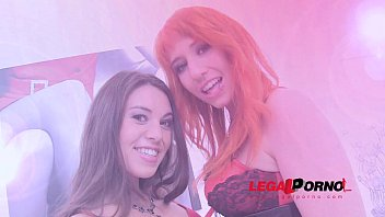 Nasty sluts Proxy Paige & Tiffany Doll love two cocks in the ass (DAP, DP, hard anal)  SZ608 thumbnail