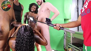 Part #1 behind the scenes with Mrsfeedme, Druffbandit, Peter King Productions, BlackXChrist, Cameron Congo
