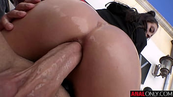 ANAL ONLY Maddy May's First Ever Anal Scene!