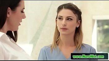 Pyramid Team (Angela White & Kristen Scott) nuru video-01
