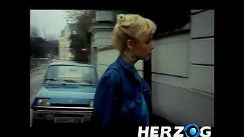 Heidi licks her doppelganger