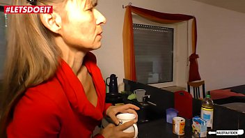 LETSDOEIT - German Wife Fucked Rough by Neighbor 10 min