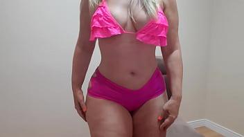 dança sensual de shortinho rosa pink/ sexy dance in pink shorts