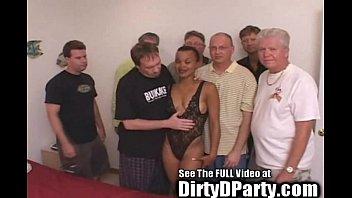 Ro cum Hot ebony kaitlyns 7 white cock bukkake gangbanging