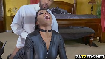 Romi got double penetrated in gangbang 7 min