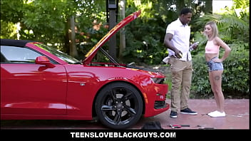 Tiny Young Blonde Teen Chloe Temple Fucked By Big Black Cock