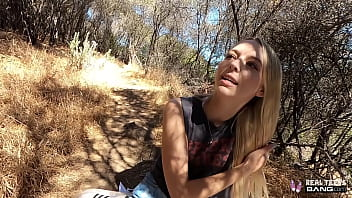 Real Teens - Beautiful Lily Larimar Gets Fucked Outdoors