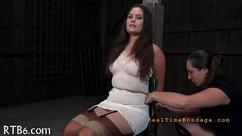 Intensive caning for worthless playgirl