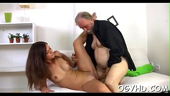 Old cock fucking young cunts - Hot young playgirl screwed by old guy