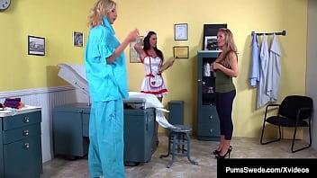 Medical Muff Magic! Puma Swede Nicole Aniston & Jessica Jaymes Orgasm!
