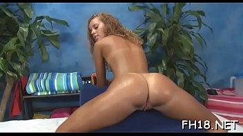 Lewd blonde maid Jessie Rogers amazed by big meat