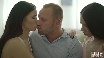 Teen Threesome Throwdown - Young And Wet Babes Get Fucked Hardcore 12 min