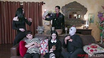 Adam's Family Orgy- Audrey Noir & Kate Bloom