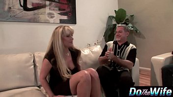 Blonde Milf Fuc ks In Front Of Her Husband Her Husband
