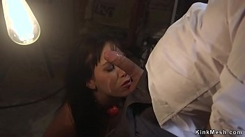 Husband anal fucks deep throat wife