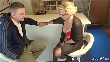German Big natural Tits Mom First Fun with Step Son and then Fuck his Dad