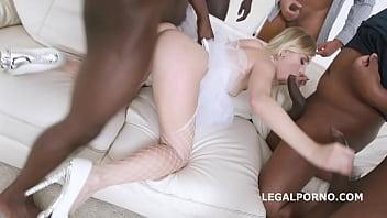 Slammed brides, Kira Thorn No Pussy, Balls Deep Anal and DAP, Gapes, Swallow GIO889 75秒