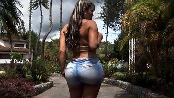 Sandra Big Colombian Booty