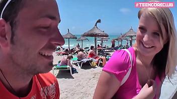 German Guy fucks 18yo Teen in Mallorca Holidays 13 min