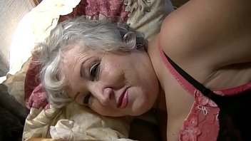 Mature Dana Tickled in Red Fully Fashioned RHT Stockings - view  only head