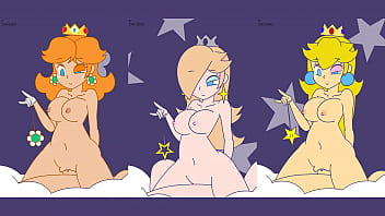 Minus8 - Not New Daisy, Rosalina, and Peach Triple Staggered