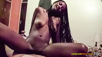 Interracial couple homemade sex tape in hotel leaked