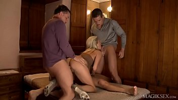 Hot Blonde Hooker Does Dvp Orgy