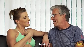 Old sex old - Daddy4k. guy catches girlfriend and dad having old and young sex