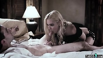 Hot blonde stepsiter fucked her new nerd stepbrother