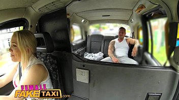 Female Fake Taxi Busty tit wank makes stud cum hard Preview