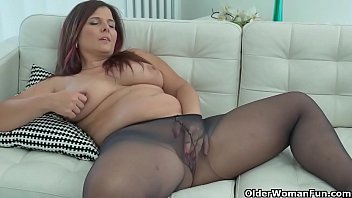 Euro milfs in nylon part 1