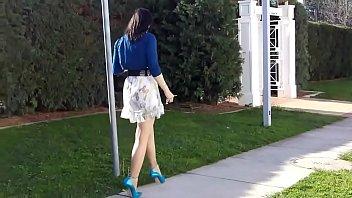 Best Mom Flashing in 7 Inch Heels. See pt2 at goddessheelsonline.co.uk 6 min