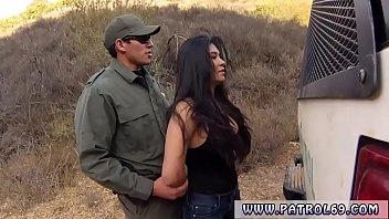 Brunette teasing handjob Stunning Mexican floozie Alejandra Leon